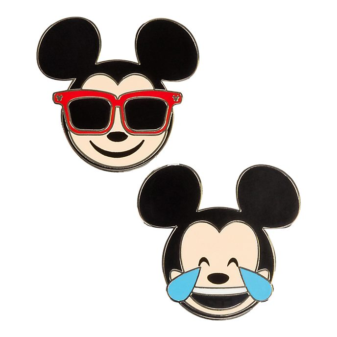 Disneyland Paris Mickey Mouse Emoji Pins