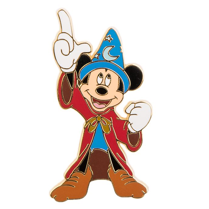 Pin's Mickey l'apprenti sorcier Disneyland Paris
