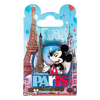 Pin's Mickey et la tour Eiffel, souvenir de Disneyland Paris
