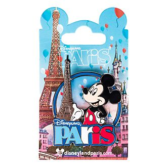 Disneyland Paris Mickey Mouse and Eiffel Tower Souvenir Pin