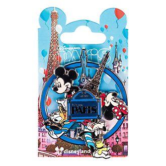 Pin's circulaire, souvenir de Disneyland Paris