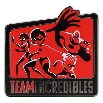 Disneyland Paris Team Incredibles Pin