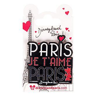Pin's «Paris je t'aime» de Disneyland Paris