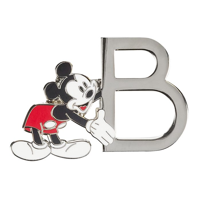 "Disneyland Paris Pin's lettre ""B"" Mickey Mouse"
