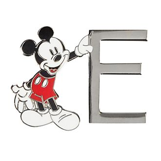 Disneyland Paris Mickey Mouse 'E' Letter Pin