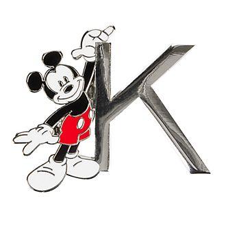 Disneyland Paris Mickey Mouse 'K' Letter Pin