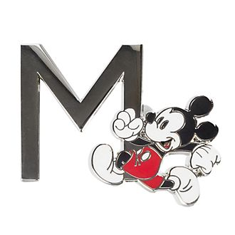 Disneyland Paris Mickey Mouse 'M' Letter Pin