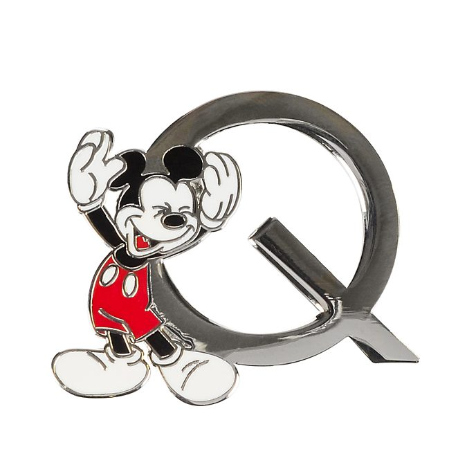 "Disneyland Paris Pin's lettre ""Q"" Mickey Mouse"