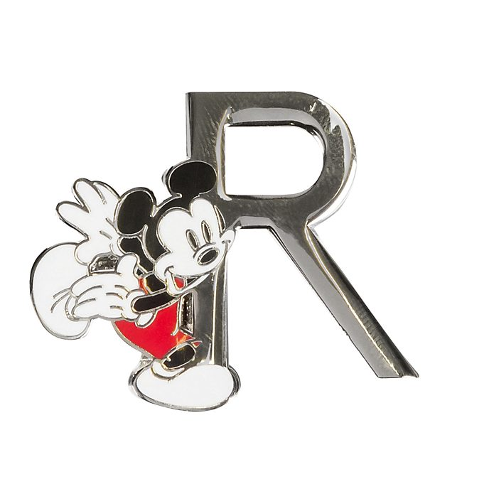 Disneyland Paris Mickey Mouse 'R' Letter Pin