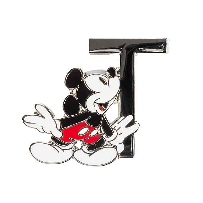 """Disneyland Paris Pin's lettre """"T"""" Mickey Mouse"""