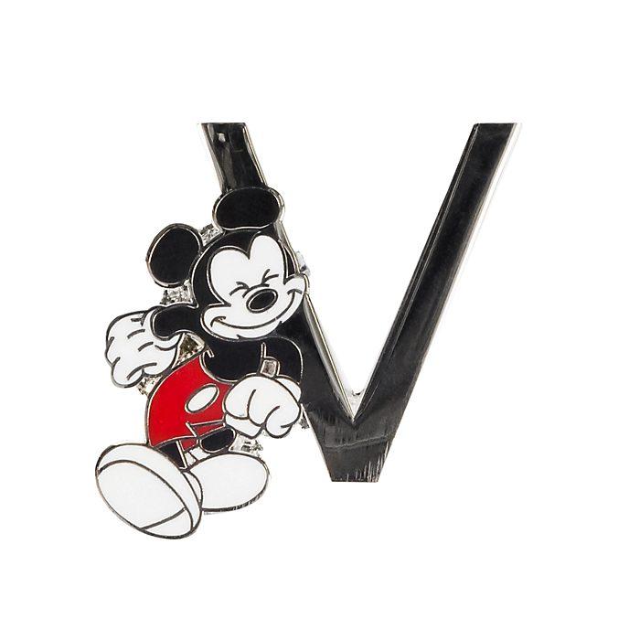 "Disneyland Paris Pin's lettre ""V"" Mickey Mouse"