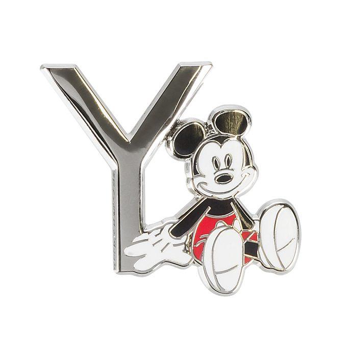 "Disneyland Paris Pin's lettre ""Y"" Mickey Mouse"