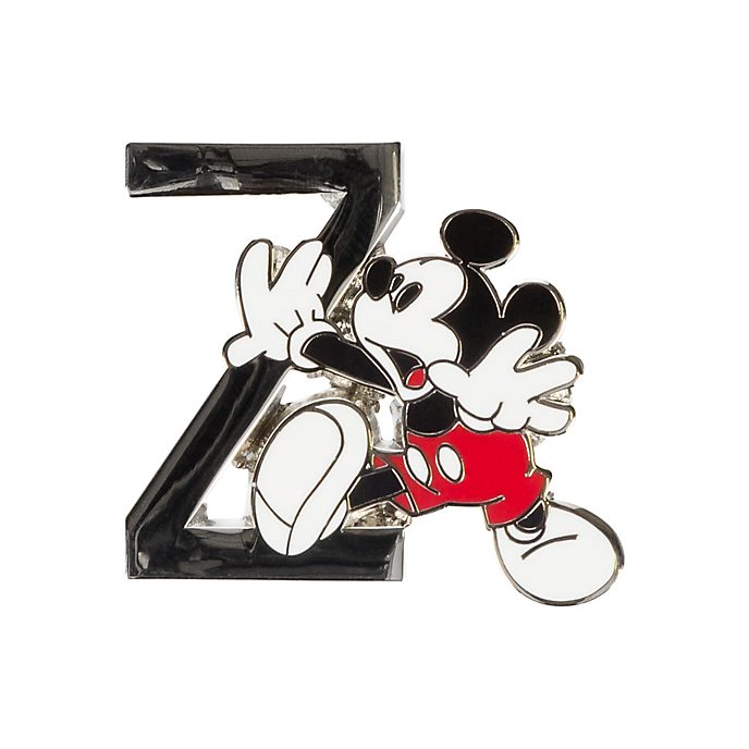 Disneyland Paris Mickey Mouse 'Z' Letter Pin