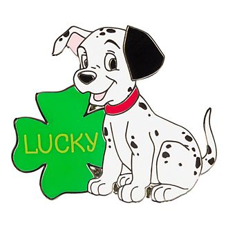 Disneyland Lucky Message Pin, 101 Dalmatians