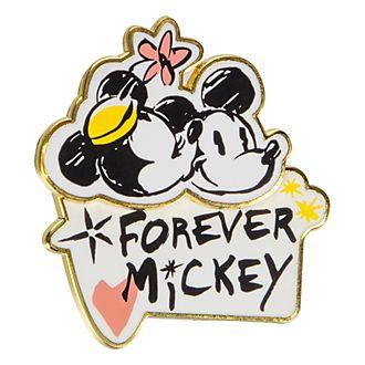 Disneyland Paris Mickey and Minnie Forever Pin