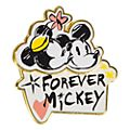 Disneyland Paris Mickey and Minnie Forever Pin