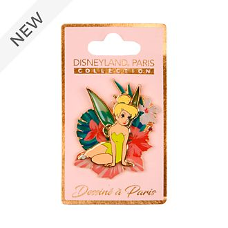 Disneyland Paris Tinker Bell Secret Garden Tropical Pin