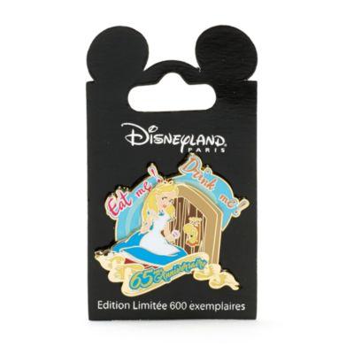 Disneyland Paris - Alice im Wunderland Anstecknadel in limitierter Edition zum 65. Jubiläum