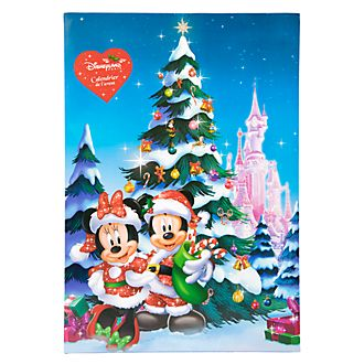 disneyland paris mickey and friends pin advent calendar