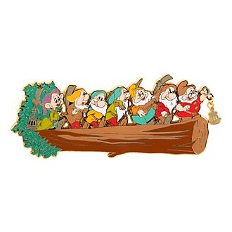 Disneyland Paris Seven Dwarfs Limited Edition Jumbo Pin