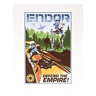 Image Endor Star Wars Disneyland Paris