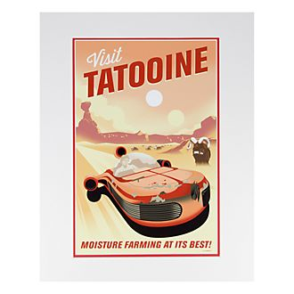Disneyland Paris Star Wars Tatooine Poster