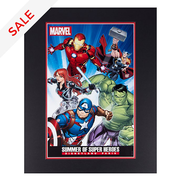 Disneyland Paris Summer of Super Heroes Poster