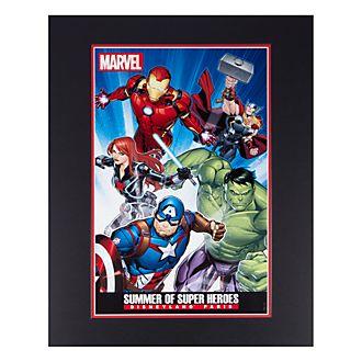 Disneyland Paris Summer of Super Heroes Poster