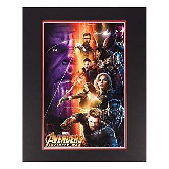 Disneyland Paris Infinity War Poster