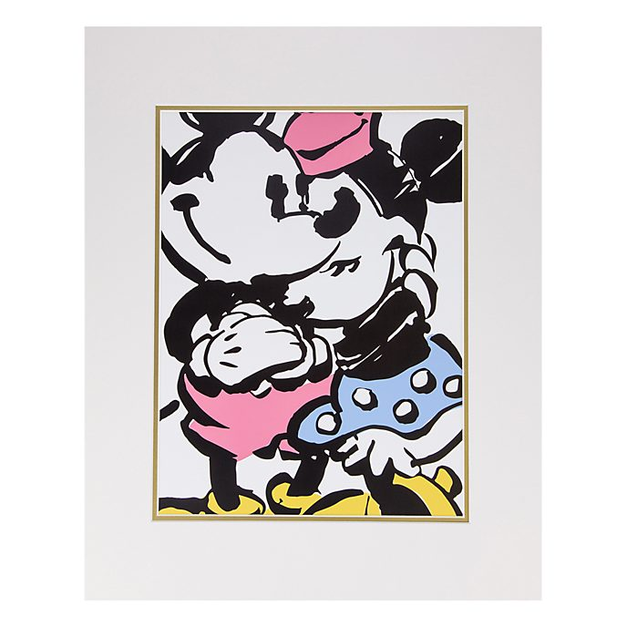 Disneyland Paris Mickey and Minnie Print