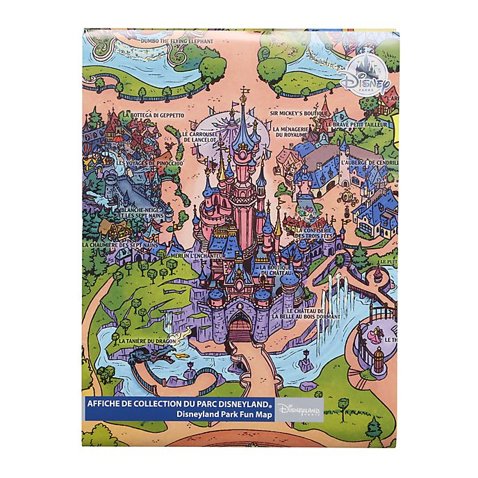Disneyland Paris Fun Map
