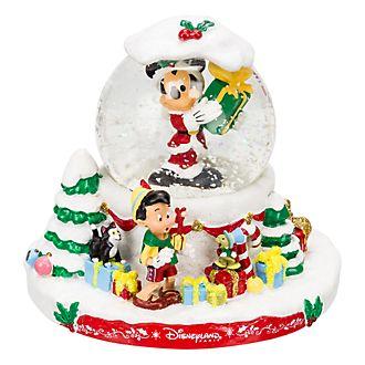 Disneyland Paris Christmas Snow Globe