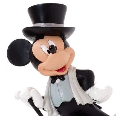 Mickey Mouse Top Hat Figurine