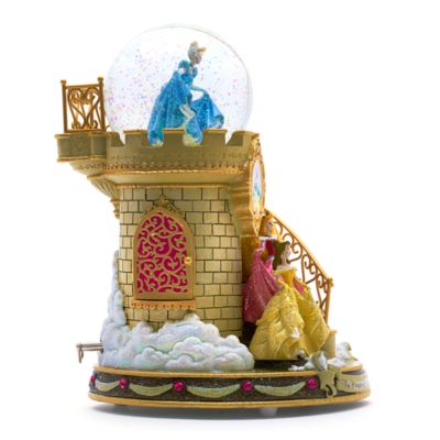 Disney Princess Staircase Musical Snow Globe