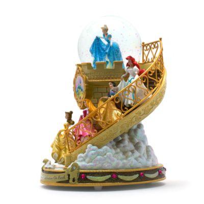 Disney Prinzessin - Treppe Schneekugel mit Musik