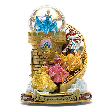 Bola de nieve musical escalera princesas Disney