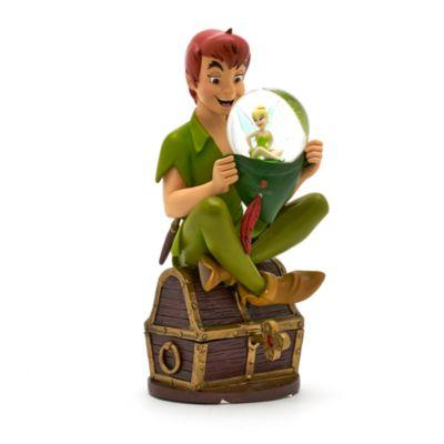 Disneyland Paris Peter Pan Snowglobe Figurine