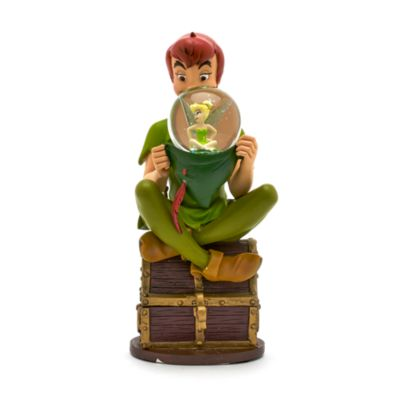 Disneyland Paris - Peter Pan Figur mit Schneeekugel