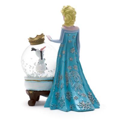 Boule à neige Elsa et Olaf