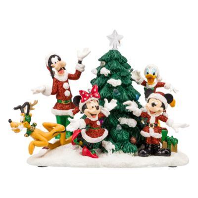 Micky und seine Freunde – Figur mit beleuchtetem Weihnachtsbaum