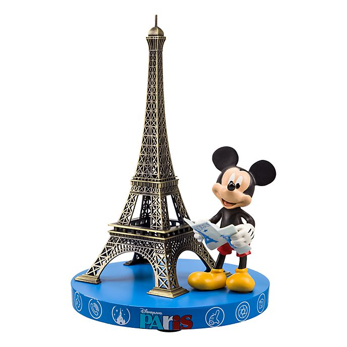 Disneyland Paris Mickey Mouse and Eiffel Tower Souvenir Figurine