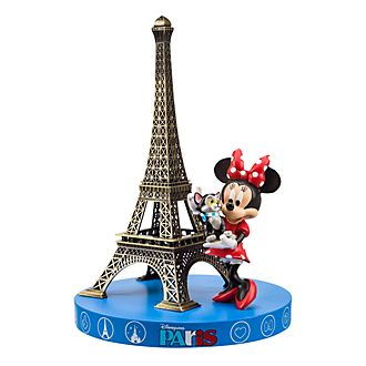 Disneyland Paris Minnie Mouse and Eiffel Tower Souvenir Figurine