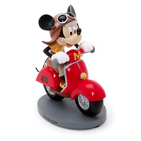 Micky Maus - Figur mit Scooter