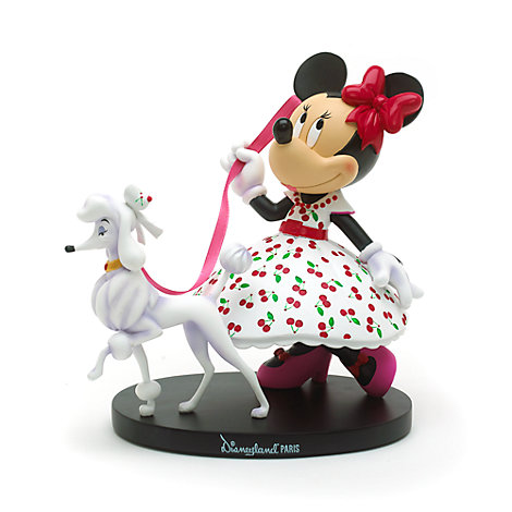Minnie Mouse Vintage Figurine, Disneyland Paris