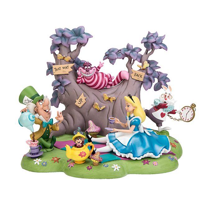 Figurine À l'heure du thé avec Alice Disneyland Paris