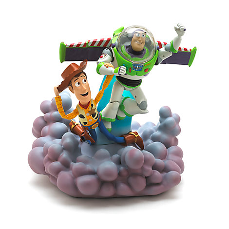 buzz and woody deluxe light up figurine toy story. Black Bedroom Furniture Sets. Home Design Ideas