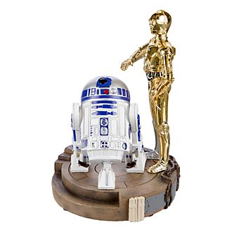Disneyland Paris Star Wars R2-D2 & C-3PO Figurine