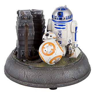 Disneyland Paris Star Wars R2-D2 & BB-8 Light-Up Figurine