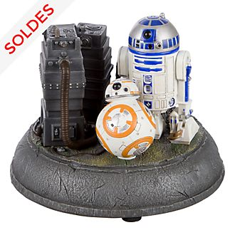 Figurine lumineuse R2D2 et BB-8 Star Wars Disneyland Paris