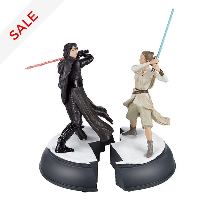 Disneyland Paris Star Wars Ben & Rey Figurine